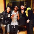 Nicki Minaj, Lil Wayne et Drake à Miami. Février 2017.
