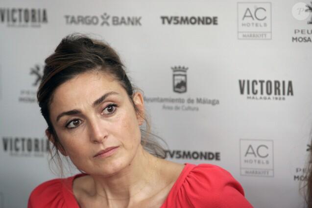 Julie Gayet pendant le Festival du Film Français à Malaga, le 21 octobre 2016.