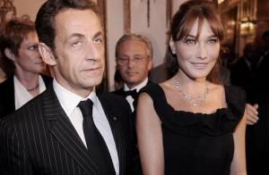 Carla et Nicolas Sarkozy ont passé une excellente soirée en... amoureux ! Carla est montée sur scène ! (réactualisé)