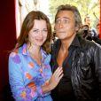 Marine Delterme et Jean-Michel Tinivelli - Conférence de presse de TF1 le 29 août 2007 à Paris