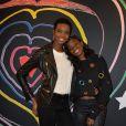 """Maria Borges et Karidja Touré- Lancement de la collection """"Child at Heart"""" par Naomi Campbell et Diesel à Paris le 20 avril 2017. © Vereen/Bestimage"""