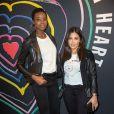"""Maria Borges et Madja Sakho - Lancement de la collection """"Child at Heart"""" par Naomi Campbell et Diesel à Paris le 20 avril 2017."""