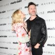 "Kyle Newman et Jaime King assiste à la soirée ""Marie Claire's Fresh Faces"" au Doheny Room à West Hollywood. Los Angeles, le 22 avril 2017."