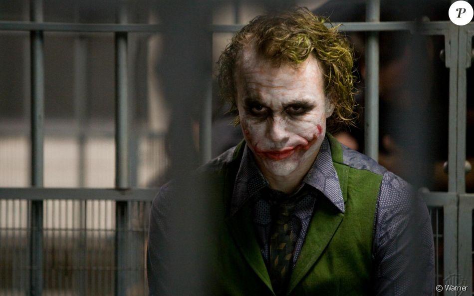 Heath Ledger dans The Dark Knight.