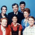 Donny Most, Henry Winkler, Erin Moran, Tom Bosley, Anson Williams, Marion Ross, Ron Howard, les acteurs des ''Happy Days'' - 1974-1984. © Paramount TV via ZUMA Press/Bestimage