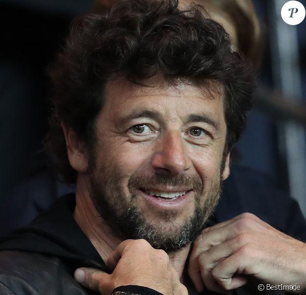 Patrick Bruel assiste au match de Ligue 1 entre le Psg et Lyon à Paris le 19 mars 2017. Le Psg à remporté le match sur le score de 2-1. © Cyril Moreau/Bestimage