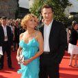 Natasha Richardson et Liam Neeson à Londres le 19 juin 2008.