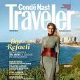 Bar Refaeli en couverture du magazine Condé Nast Traveler España. Numéro de mai 2017.