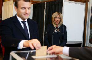 Election - Emmanuel Macron et Brigitte : En famille au Touquet pour voter