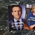Illustration - Le second tour de l'élection présidentielle opposait le 7 mai 2017 les candidats Emmanuel Macron et Marine Le Pen.
