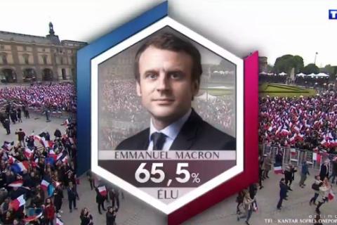 Présidentielle : Emmanuel Macron président, Marine Le Pen vaincue
