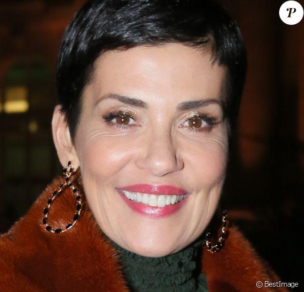 """Cristina Córdula à la 15ème édition du """"Dîner de la mode du Sidaction"""" au Grand Palais à Paris, le 26 janvier 2017."""