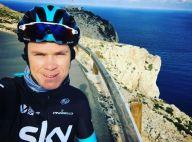Christopher Froome renversé en France, l'automobiliste prend la fuite