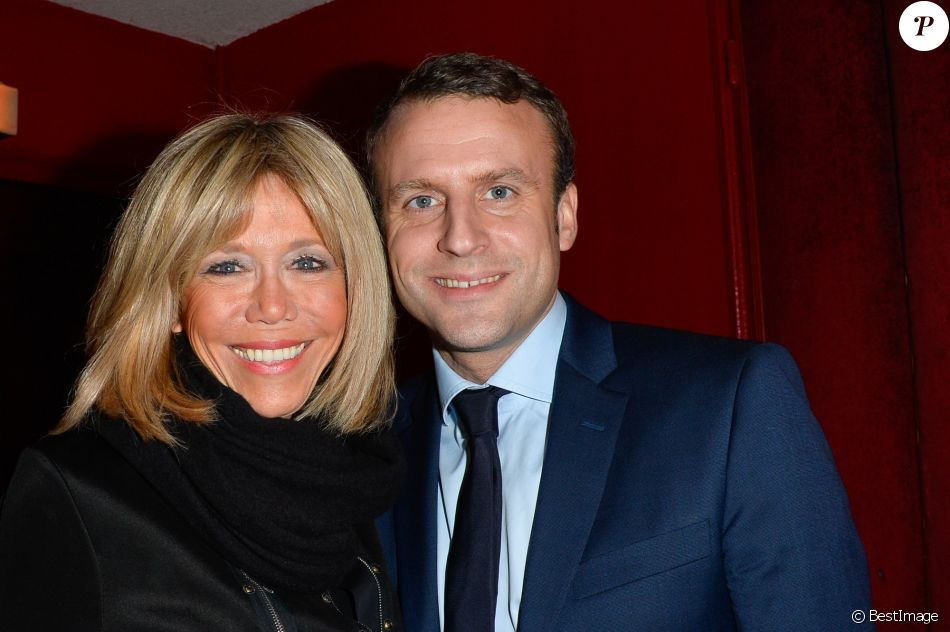 emmanuel et brigitte macron leur diff rence d 39 ge salu e par madonna purepeople. Black Bedroom Furniture Sets. Home Design Ideas