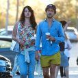 Lana Del Rey et son petit ami Italien Francesco Carrozzini sont allés déjeuner au restaurant Cafe Habana à Malibu, le 5 septembre 2015