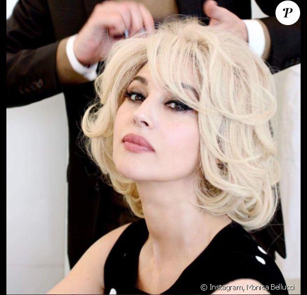Monica Bellucci en blonde, le 11 mai 2017.