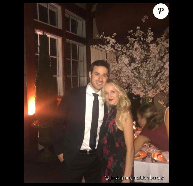 Nastia Liukin et Matt Lombardi repoussent leur mariage à l'année prochaine - Photo publiée sur Instagram au mois de mars 2017