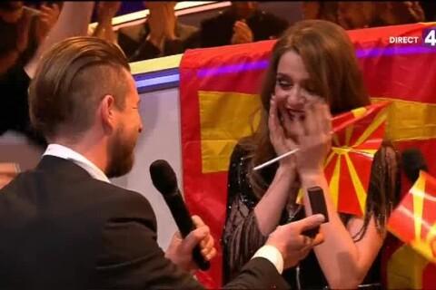 Eurovision 2017 : Une candidate demandée en mariage en direct !