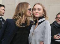 Vanessa Paradis jeune et Lily-Rose Depp : De vraies jumelles !