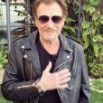 Johnny Hallyday le 14 mai 2017 à Los Angeles. Traité pour soigner un cancer, le chanteur a réalisé une petite vidéo de remerciements adressée à ses fans. C'est la première fois qu'il s'exprime en vidéo à ce sujet depuis qu'il a annoncé sa maladie le 8 mars dernier.