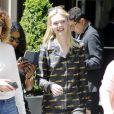 Elle Fanning à New York, le 2 mai 2017.