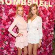 Les mannequins Victoria Secret Josephine Skriver et Stella Maxwell font la promotion du parfum Bombshell à New York, le 10 mai 2017 © CPA/Bestimage10/05/2017 - New York