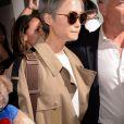 Li Yuchun arrive à l'aéroport de Nice dans le cadre du 70e Festival International du Film de Cannes, le 16 mai 2017.