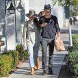 Nikki Reed et son mari Ian Somerhalder à West Hollywood, le 19 décembre 2016.