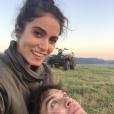 Nikki Reed et Ian Somerhalder, photo non datée et publiée pour l'anniversaire de l'actrice sur le compte Instagram du comédien, le 17 mai 2017