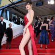 """Bella Hadid (robe Alexandre Vauthier)- Montée des marches du film """"La fille inconnue"""" lors du 69ème Festival International du Film de Cannes. Le 18 mai 2016. © Borde-Jacovides-Moreau/Bestimage"""