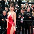 """Bella Hadid - Montée des marches du film """"La fille inconnue"""" lors du 69ème Festival International du Film de Cannes. Le 18 mai 2016. © Borde-Jacovides-Moreau/Bestimage  Red carpet for the movie """"The Unknown Girl"""" (La fille inconnue) during the 69th Cannes International Film festival. On may 18th 201618/05/2016 - Cannes"""