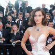 Bella Hadid, habillée d'une robe Alexandre Vauthier - Cérémonie d'ouverture du 70e Festival International du Film de Cannes. Le 17 mai 2017 © Borde-Jacovides-Moreau / Bestimage