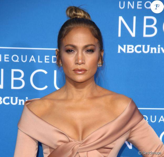 Jennifer Lopez lors du 2017 NBCUniversal Upfront à New York, le 15 mai 2017.