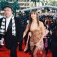 """""""Sophie Marceau et Dominique Besnehard au Festival de Cannes en 1998"""""""