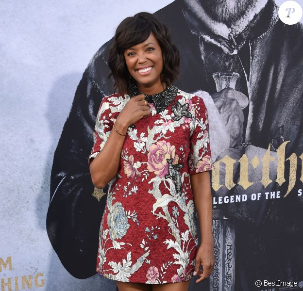 Aisha Tyler à la première du 'Roi Arthur' ('King Arthur: Legend of the Sword') à Hollywood, le 8 mai 2017 © Chris Delmas/Bestimage