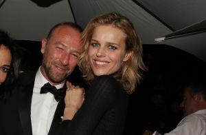Frédéric Beigbeder se lâche en soirée avec Sandra Zeitoun à Cannes
