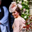 Kate Middleton au mariage de Pippa Middleton et de James Matthews à l'église St Mark à Englefield le 20 mai 2017