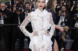 Sara Sampaio : Angélique et sexy à Cannes, elle ose la robe transparente !