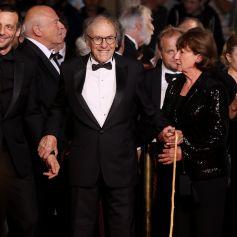 Marianne Hoepfner et son mari Jean Louis Trintignant Montée des marches du film