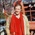Roger Moore à Gstaad en 1980