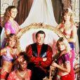 Roger Moore en plein tournage (archive)