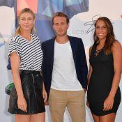 Maria Sharapova et le beau Lucas Pouille, complices, pour une soirée demesurée