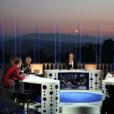 """Emission """"On n'est pas couché"""" à la Villa Domergue lors du 70ème Festival International du Film de Cannes, France, le 24 mai 2017. © Denis Guignebourg/Bestimage"""