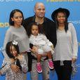 """Melanie Brown (Mel B), son mari Stephen Belafonte et ses enfants Angel, Madison et Phoenix à la Première du film """"Paddington"""" au Chinese Theatre à Hollywood. Le 10 janvier 2015"""