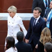 Brigitte Macron : Défilé de looks Louis Vuitton aux côtés de Melania Trump