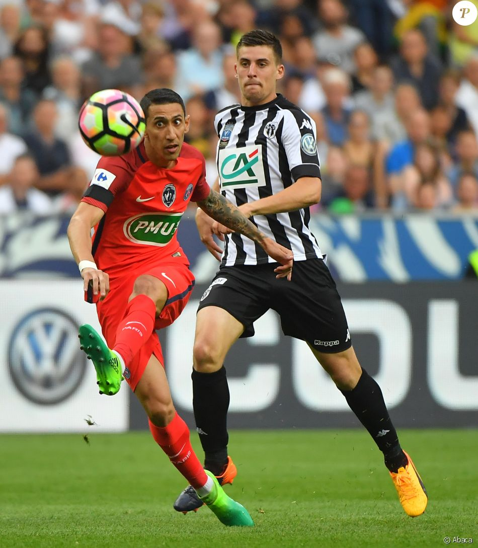 Di Maria - Finale de la coupe de France de football entre ...
