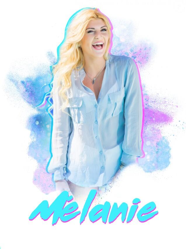 """Mélanie, candidate des """"Anges 9"""", photo officielle"""