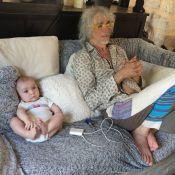 Louis Bertignac publie une adorable photo de son fils Jack, 6 mois et comme papa