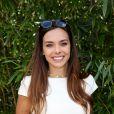 Marine Lorphelin (Miss France 2013) - Les célébrités au village des internationaux de tennis de Roland Garros à Paris le 4 juin 2017. © Dominique Jacovides-Cyril Moreau/Bestimage