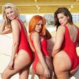 """Niki Taylor, Teyana Taylor et Ashley Graham pour le site """"swimsuit for all"""". Campagne été 2017."""